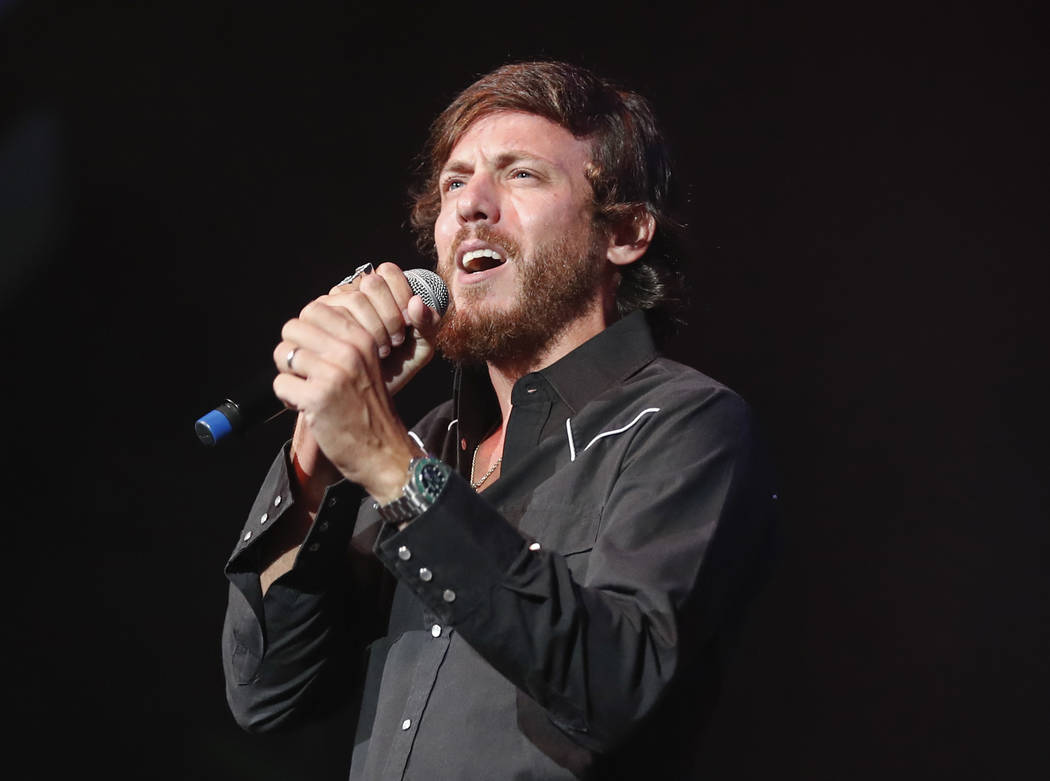 Chris Janson performs at the 2018 Nashville Songwriter Awards in Nashville, Tenn. on Sept. 19, 2018. (Al Wagner/Invision/AP, File)