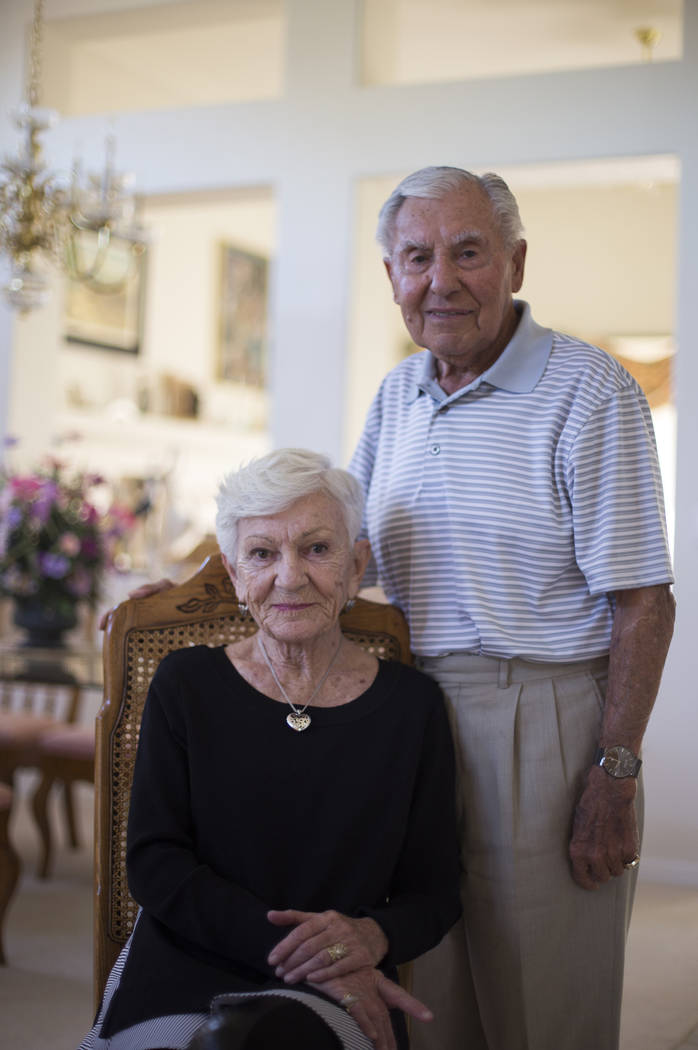 Alexander Kuechel and his wife Lilo Kuechel at their home in Las Vegas, Wednesday, Oct. 31, 2018. Both were survivors of the Holocaust. Rachel Aston Las Vegas Review-Journal @rookie__rae
