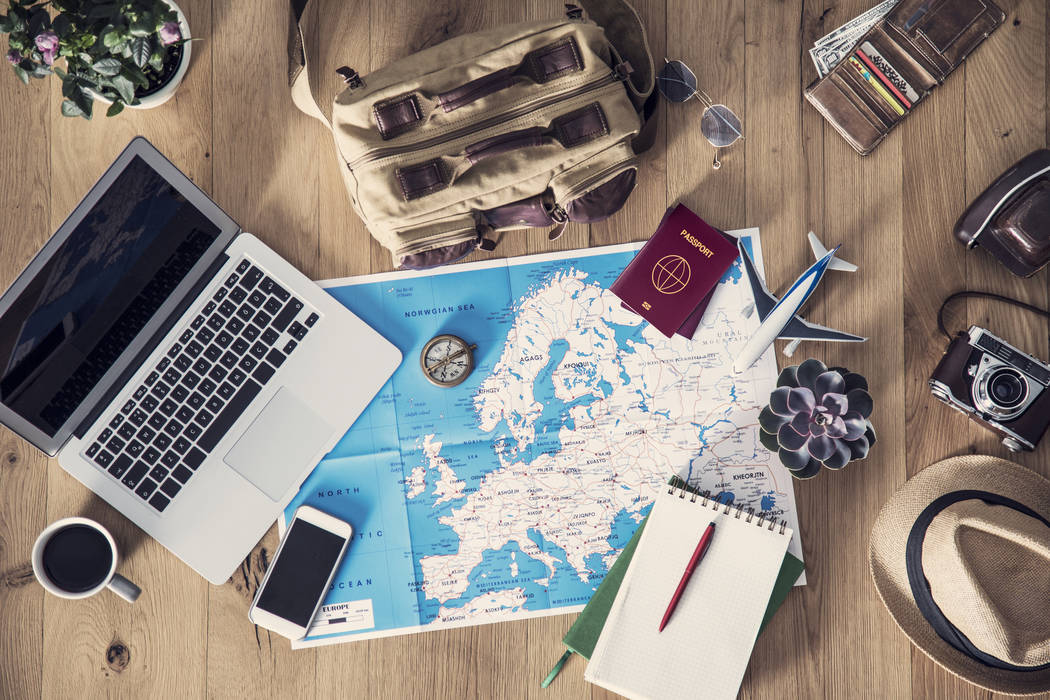 Travel planning concept on map (Getty Images)