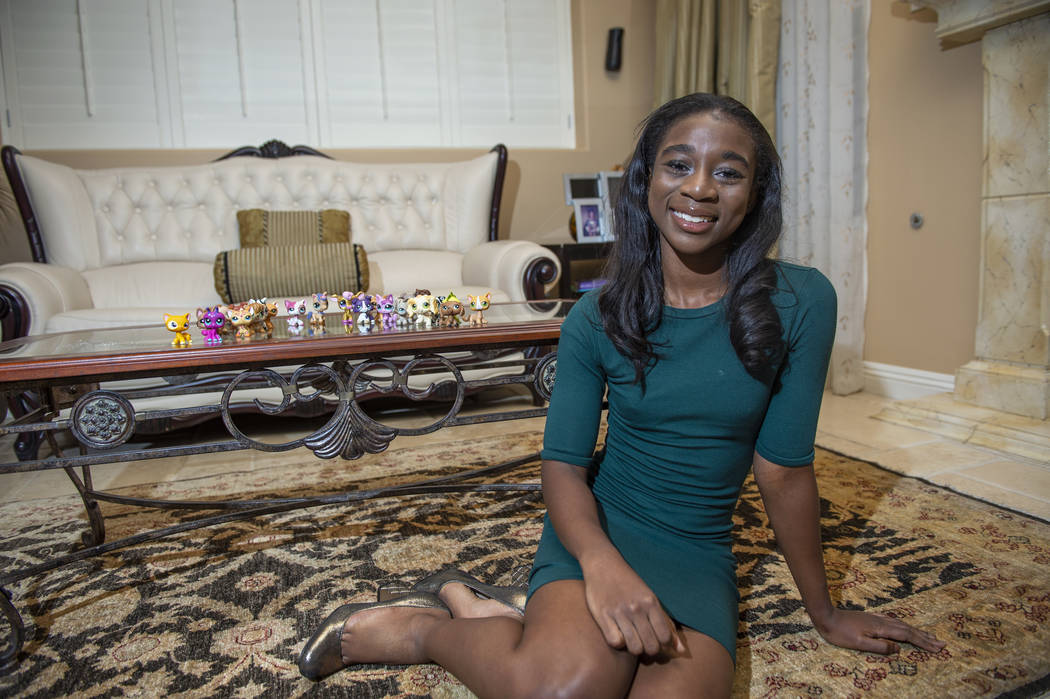 Nana Sarfo, 15, is such a fan of Little Pet Shop toys that she started an annual conference for fans that drew about 300 participants to the Henderson Convention Center this year. (Caroline Brehma ...