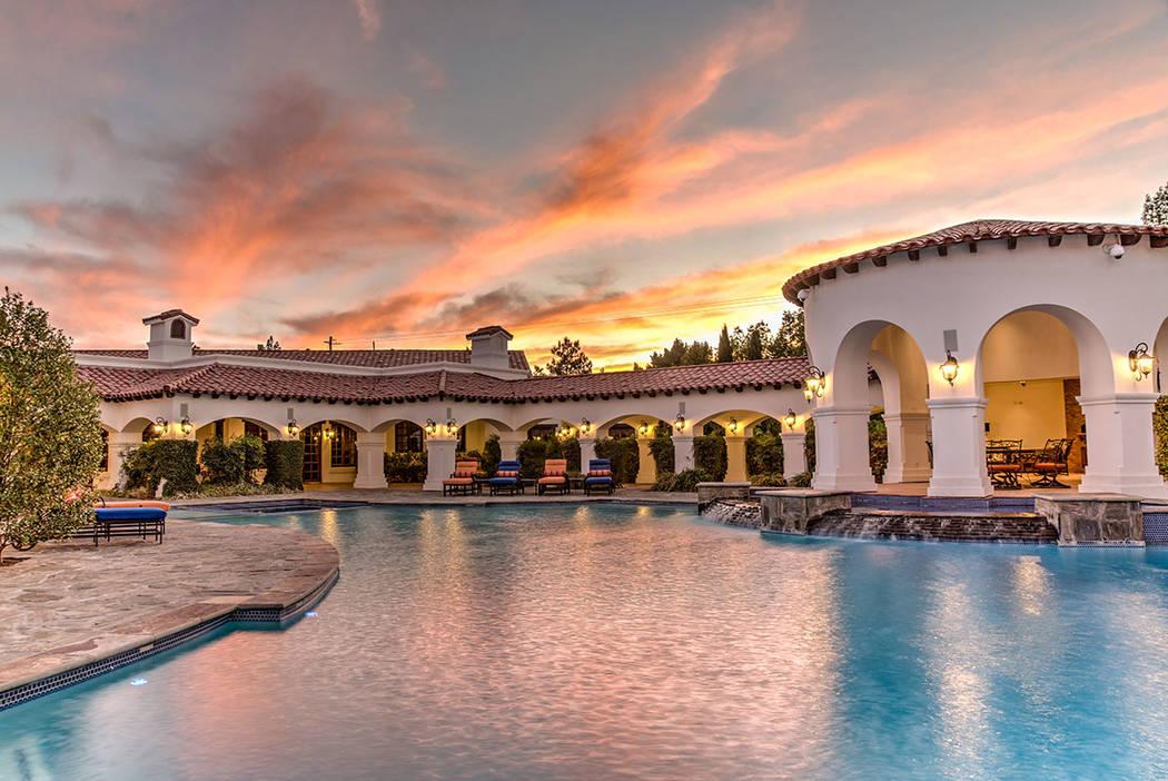 No. 4 9900 W. Patrick Lane in southwest Las Vegas sold for $8.5M. (Napoli Group)