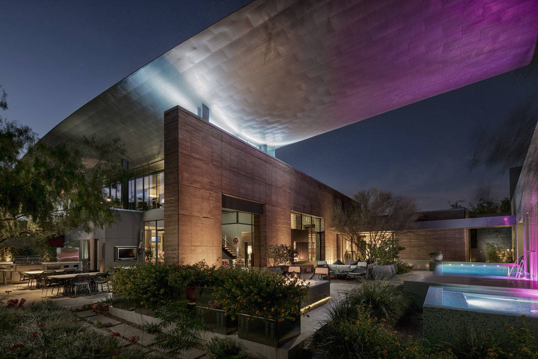 No. 7 7 Sable Ridge in The Ridges in Summerlin sold for $7M. (Ivan Sher Group)