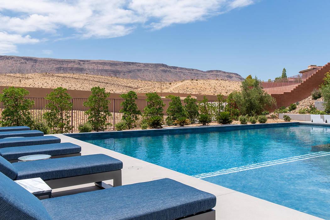 The pool. (Steve Morgan)