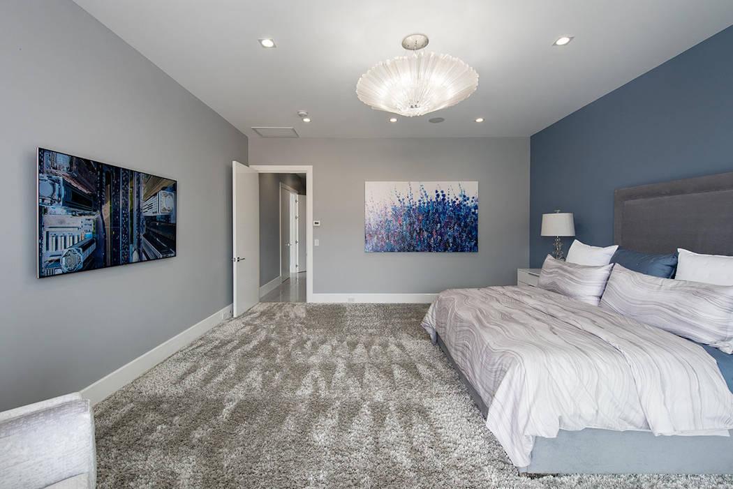 The master bedroom. (Steve Morgan)