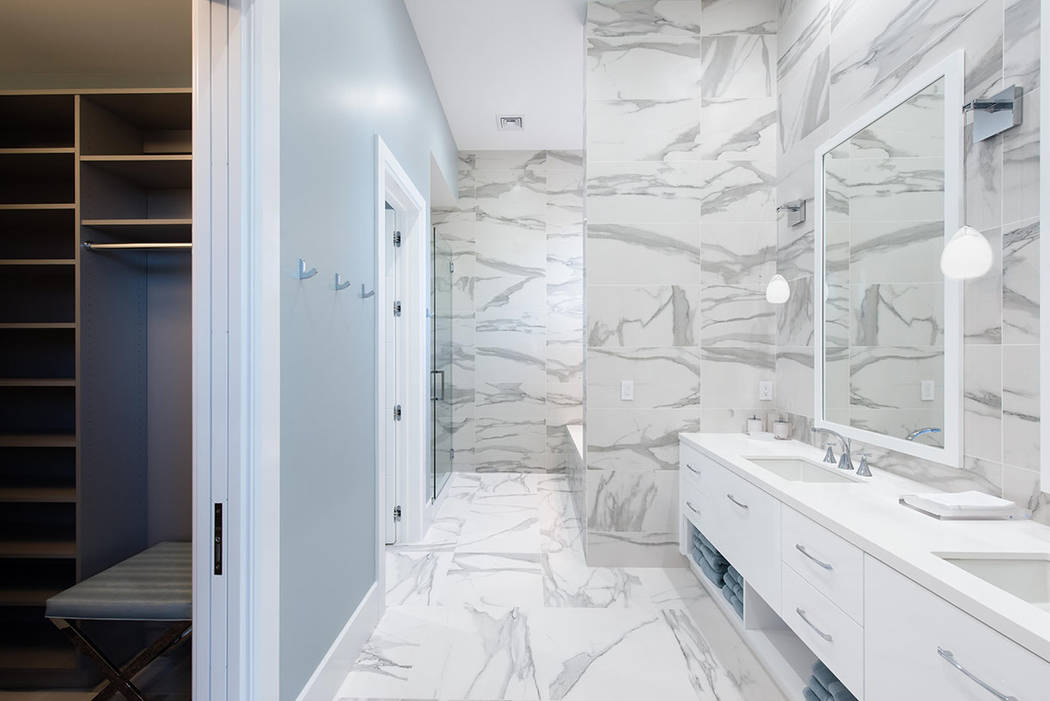 The closet is adjacent to the master bath. (Steve Morgan)