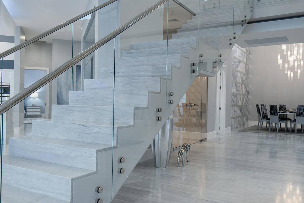 The staircase. (Steve Morgan)