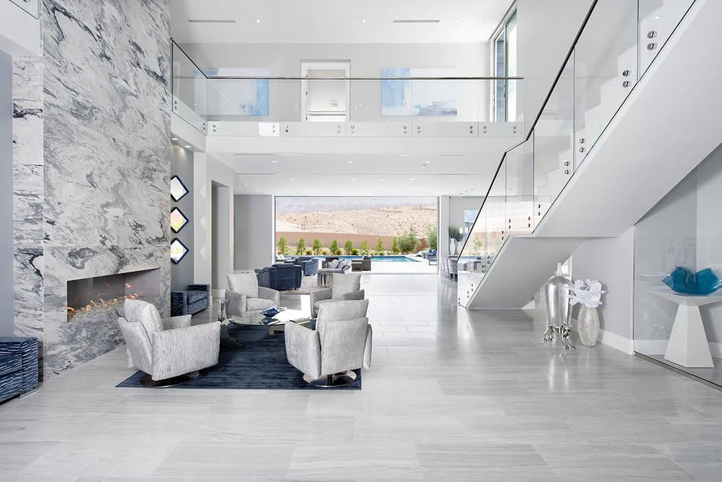 The home has indoor-outdoor living features. (Steve Morgan)