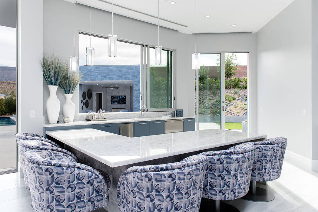 The kitchen opens to the patio. (Steve Morgan)