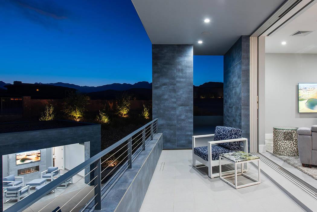 The master bedroom has a balcony. (Steve Morgan)