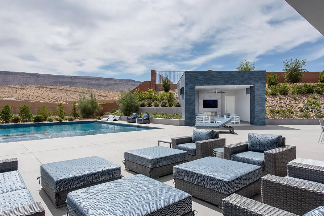 The pool area. (Steve Morgan)