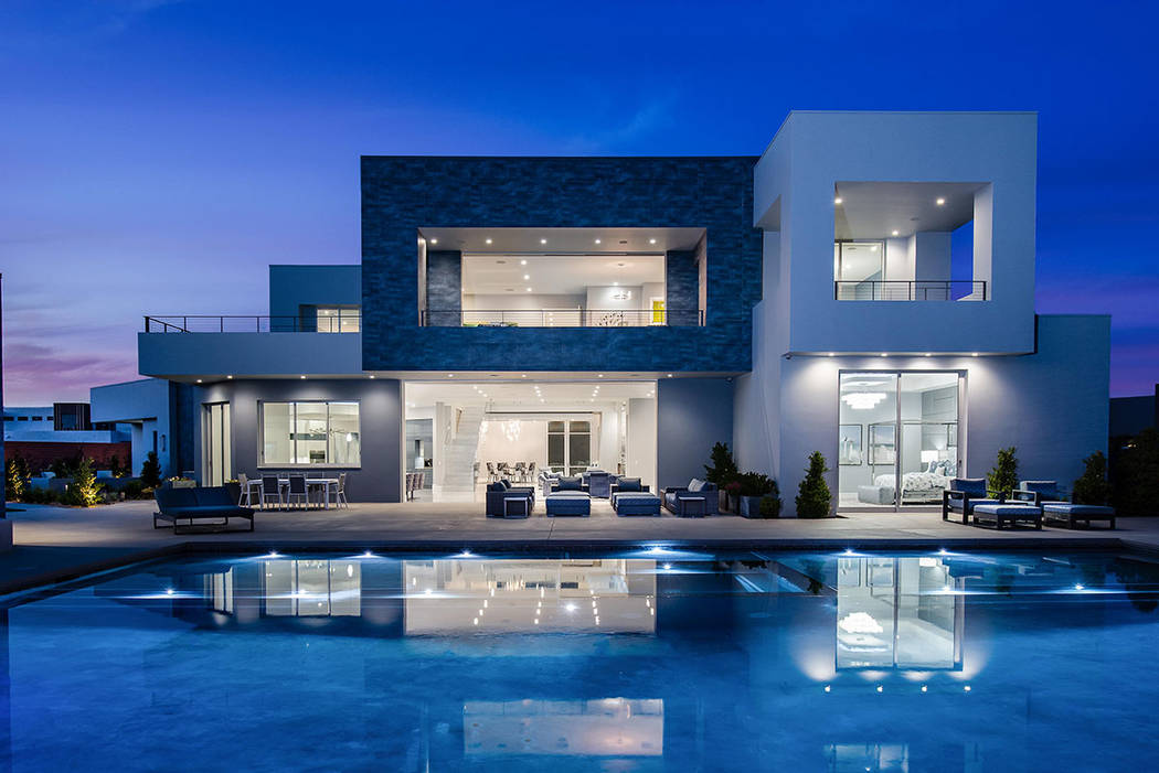 The Summerlin home has listed for nearly $10M. (Steve Morgan)