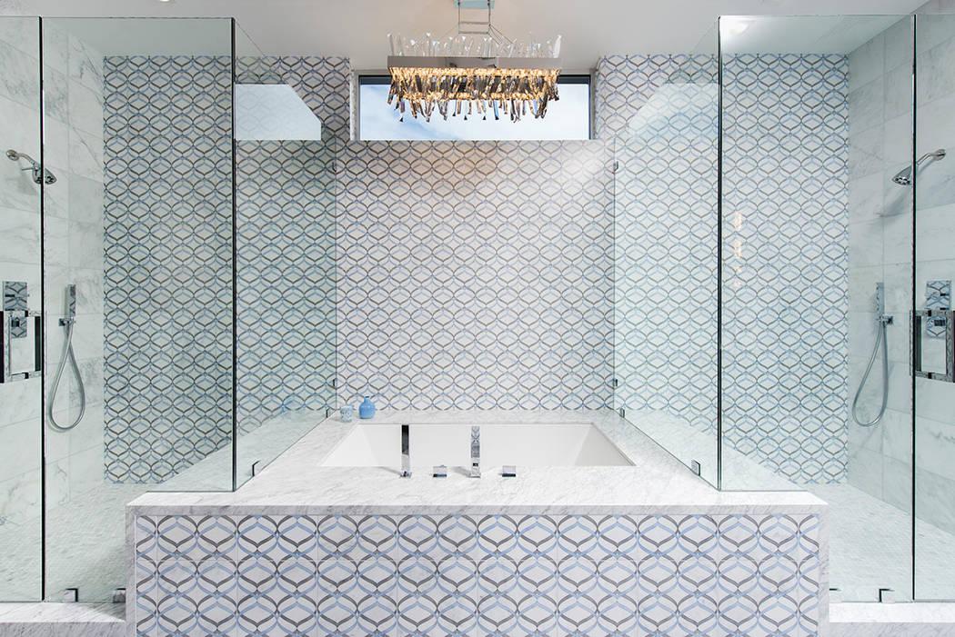 The master bath has a large shower. (Steve Morgan)
