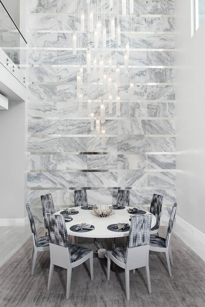 The dining room. (Steve Morgan)