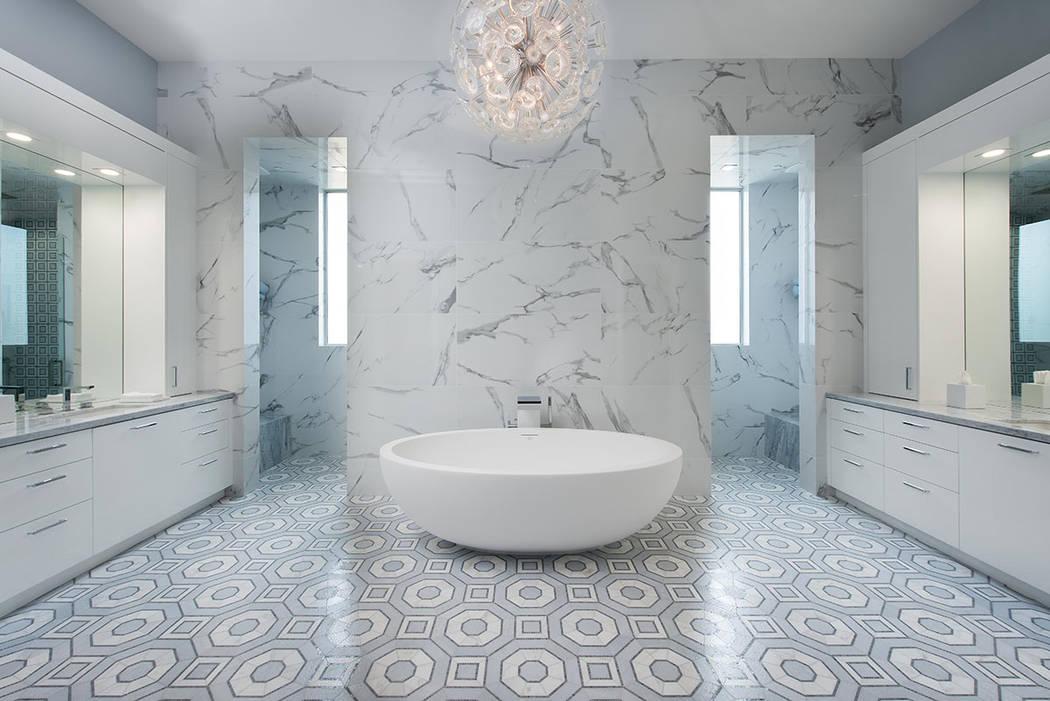 The master bath. (Steve Morgan)