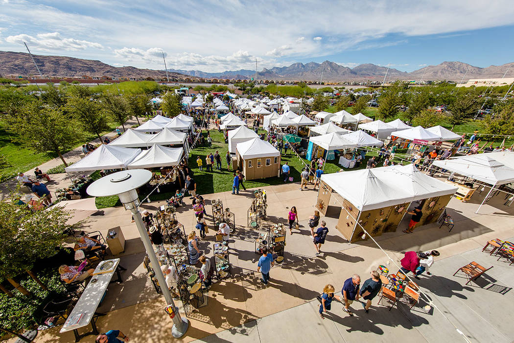 More than 100,000 people attended the 23rd annual Summerlin Festival of Arts, which was held Oct. 13-14. (Summerlin)