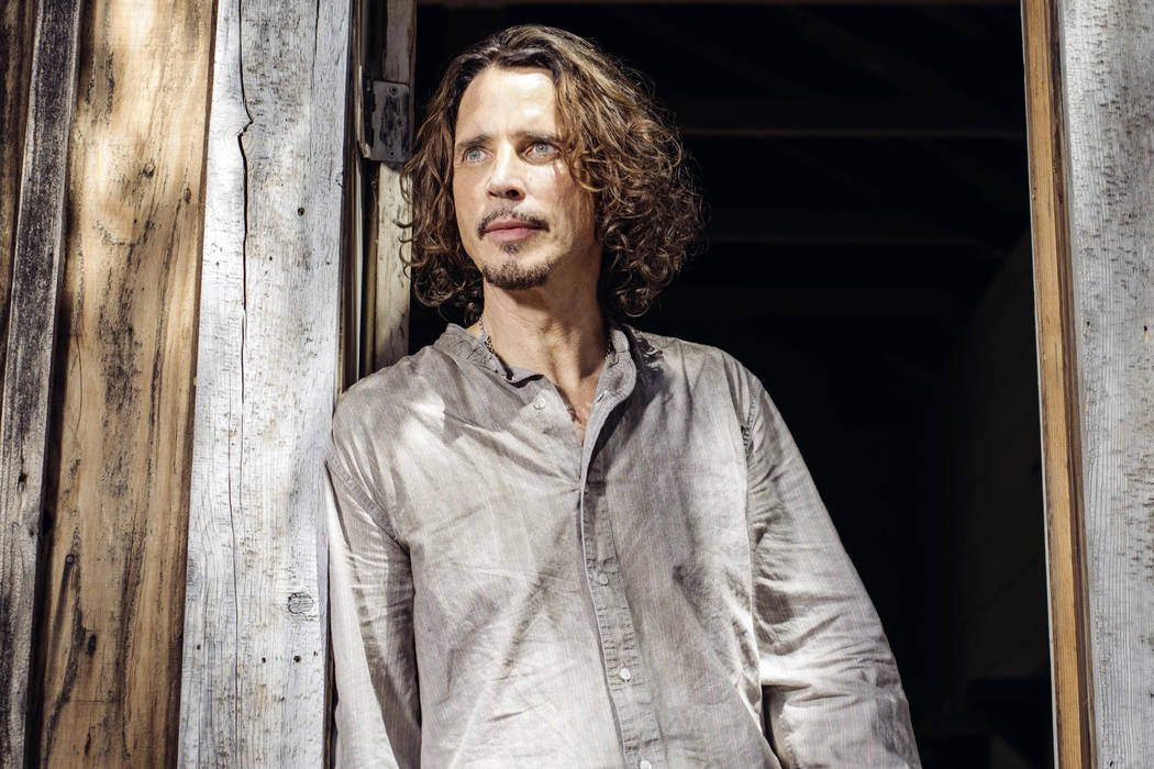 Chris Cornell poses for a portrait in July 2015 in Agoura Hills, Calif. Family members of Cornell are suing a doctor who they say overprescribed drugs to the rock singer, leading to his death. (Ca ...