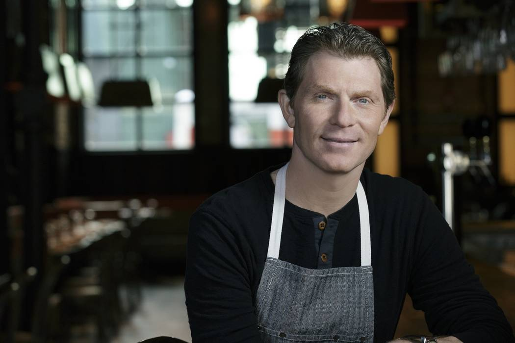 The Palms has revealed Shark as the name of Bobby Flay's seafood restaurant. Michael Crook