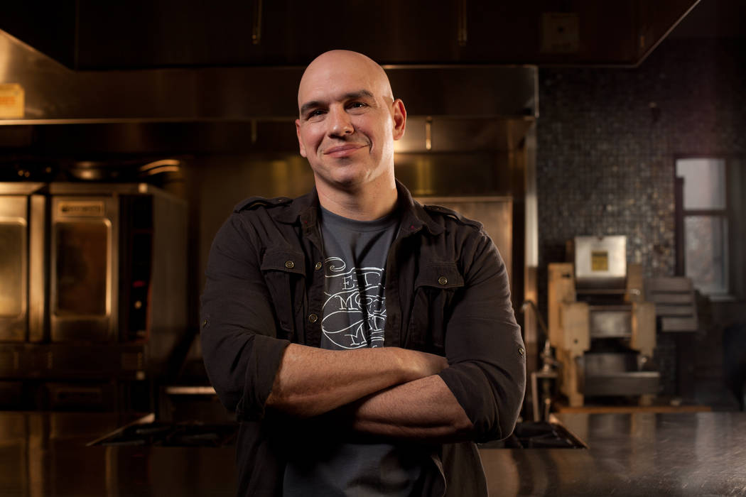 Michael Symon is planning a sort of restaurant-within-a-restaurant at his local outpost of Mabel's BBQ. (Palms)