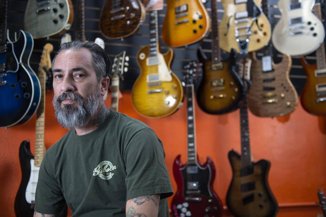 las vegas cowtown guitars owner loves all things six string las vegas review journal. Black Bedroom Furniture Sets. Home Design Ideas