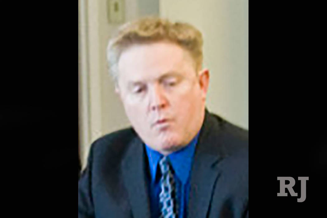 Phil Stoeckinger, seen in 2010 (Las Vegas Review-Journal)
