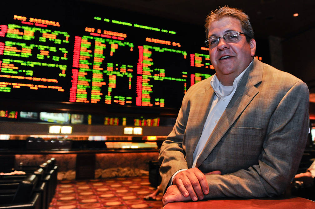 MGM Resorts Sports Book Director Jay Rood, seen in 2012. (Las Vegas Review-Journal)