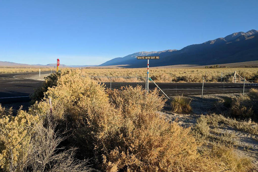 Looking north from where Karlie Guse was last seen, at the intersection of White Mountain Estates Road and U.S. Route 6