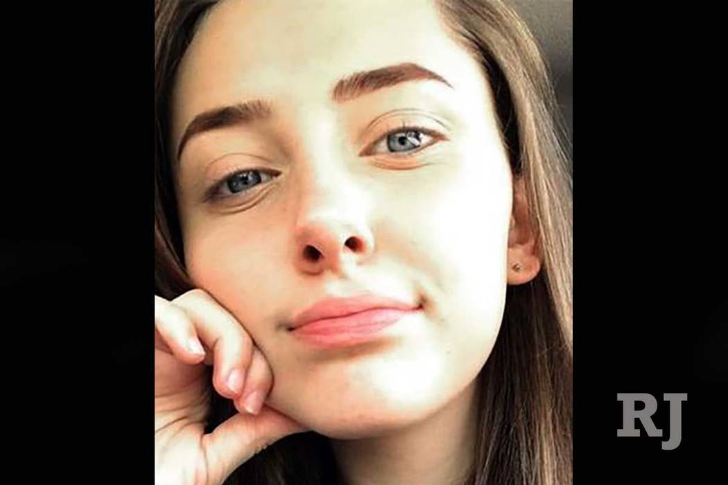 16-year-old Karlie Lain Gusé was last seen walking by herself near the highway that leads toward Nevada.