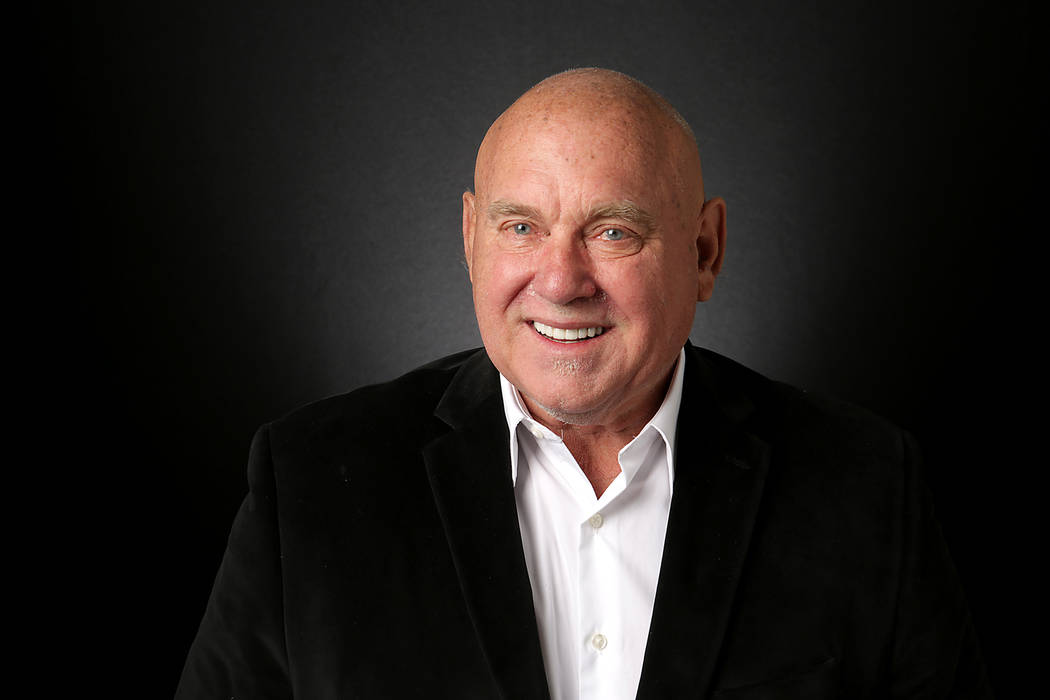 Dennis Hof, Republican candidate for Nevada State Assembly District 36, is photographed at the Las Vegas Review-Journal offices on Monday, August 20, 2018. (Michael Quine/Las Vegas Review-Journal ...