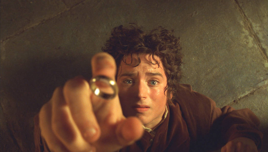 """Elijah Woods as Frodo in """"Lord of the Rings: The Fellowship of the Ring"""" (Warner Bros.)"""