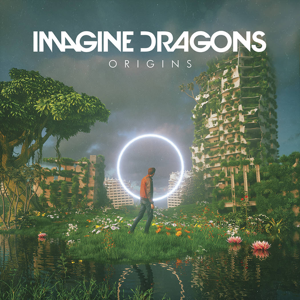 """This cover image released by Interscope shows """"Origins,"""" a release by Imagine Dragons. (Interscope via AP)"""