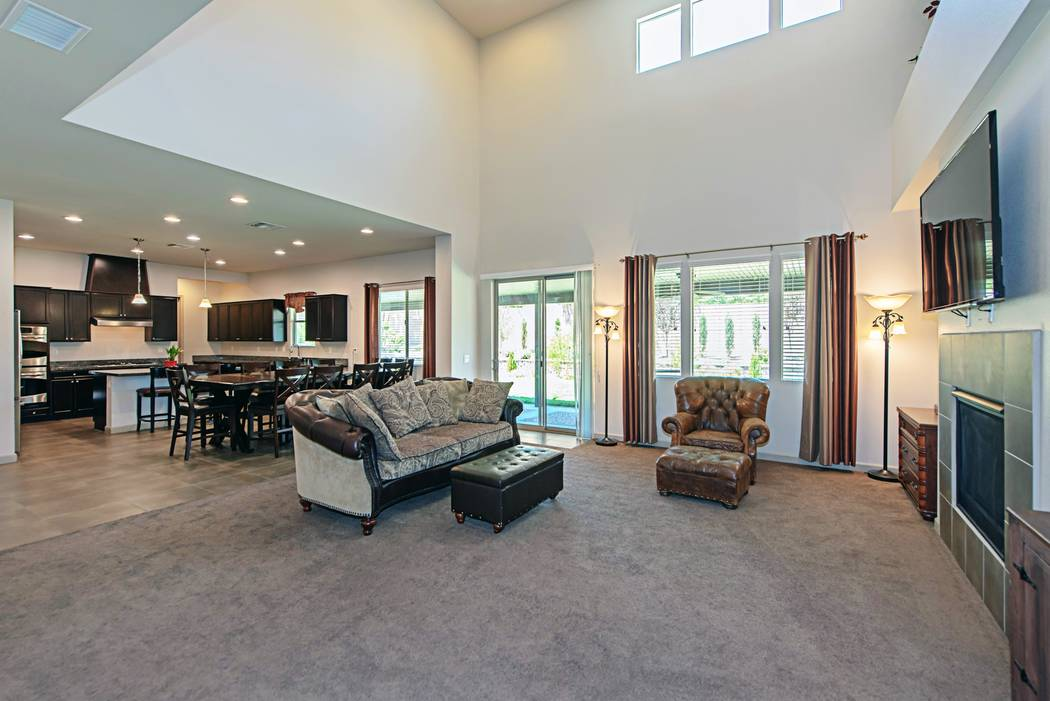 The home at 4039 Wild Eagle Circle has five bedrooms and 3½ baths. (TMI Realty)