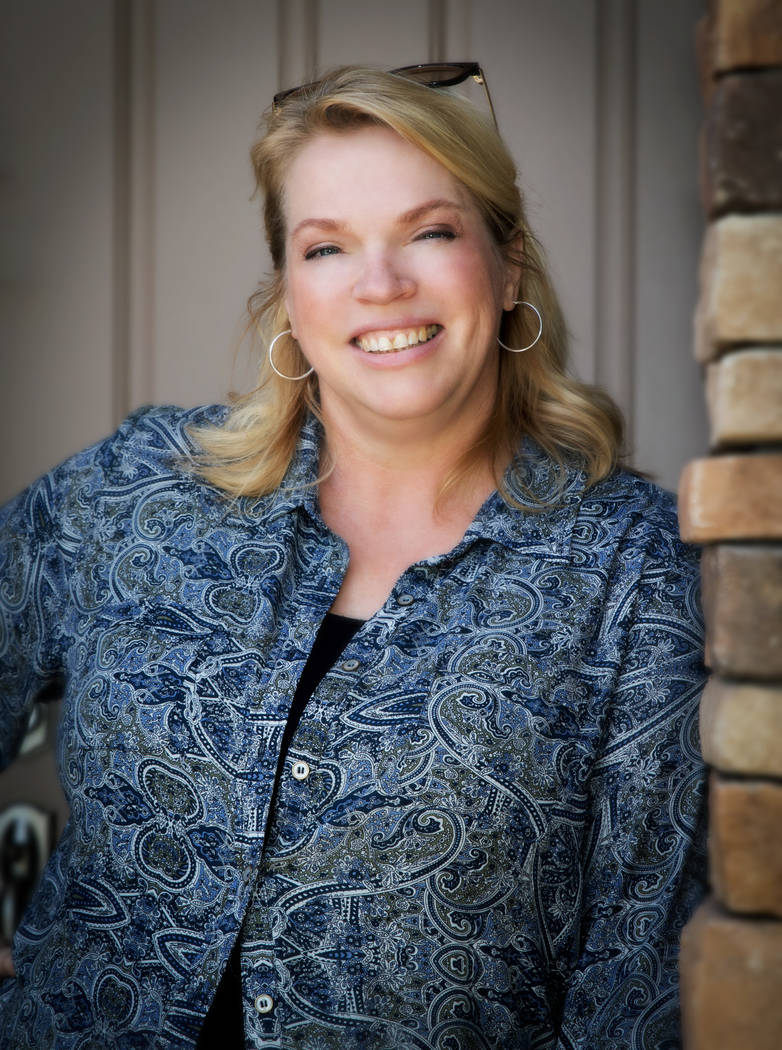 """Janelle Brown of TLC's reality show, """"Sister Wives,"""" is a Las Vegas real estate agent. (Tonya Harvey Real Estate Millions)"""