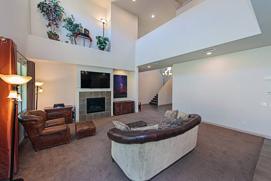 The great room in 4039 Wild Eagle Circle. (TMI Realty)