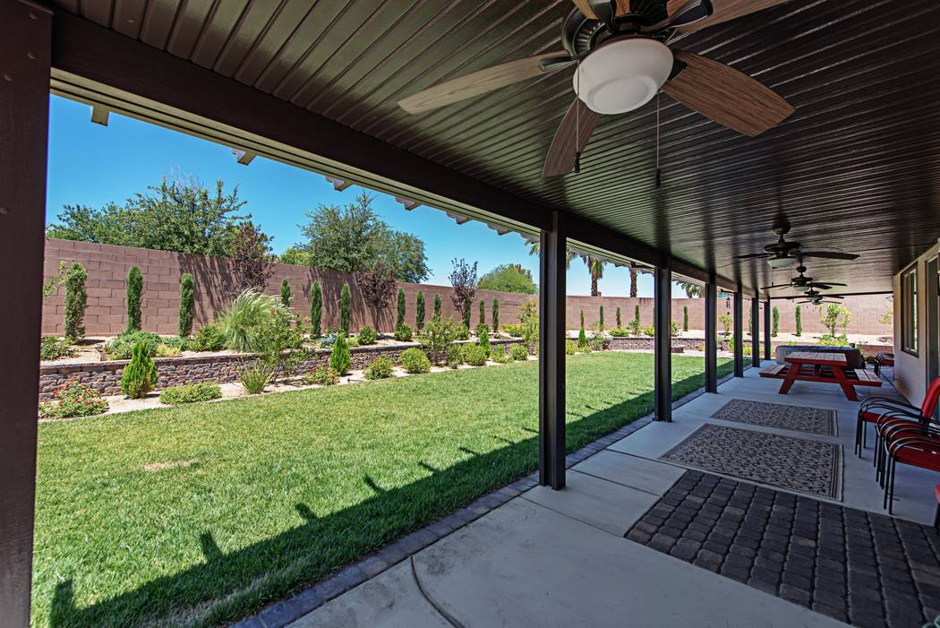 Each home has a large backyard with plenty of landscaping. (TMI Realty)