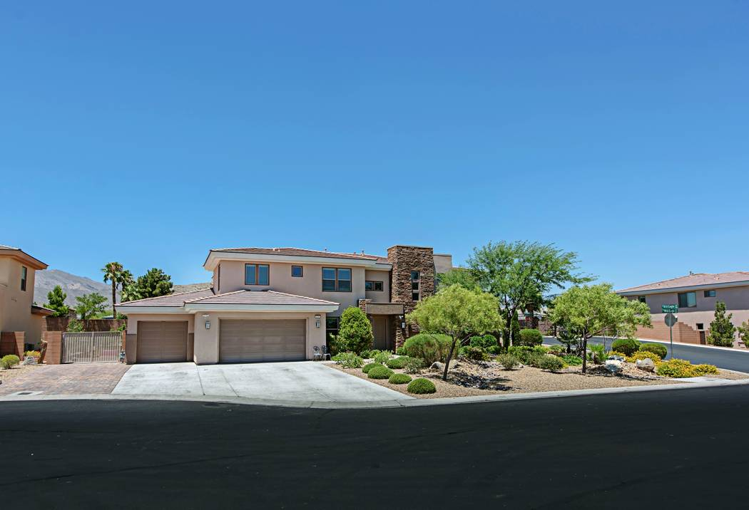 """The home at 4039 Wild Eagle Circle is on a cul-de-sac with three other homes the Brown family, which appears on TLC's reality show, """"Sister Wives,"""" lives in. They are moving to Arizona. (TMI Realty)"""