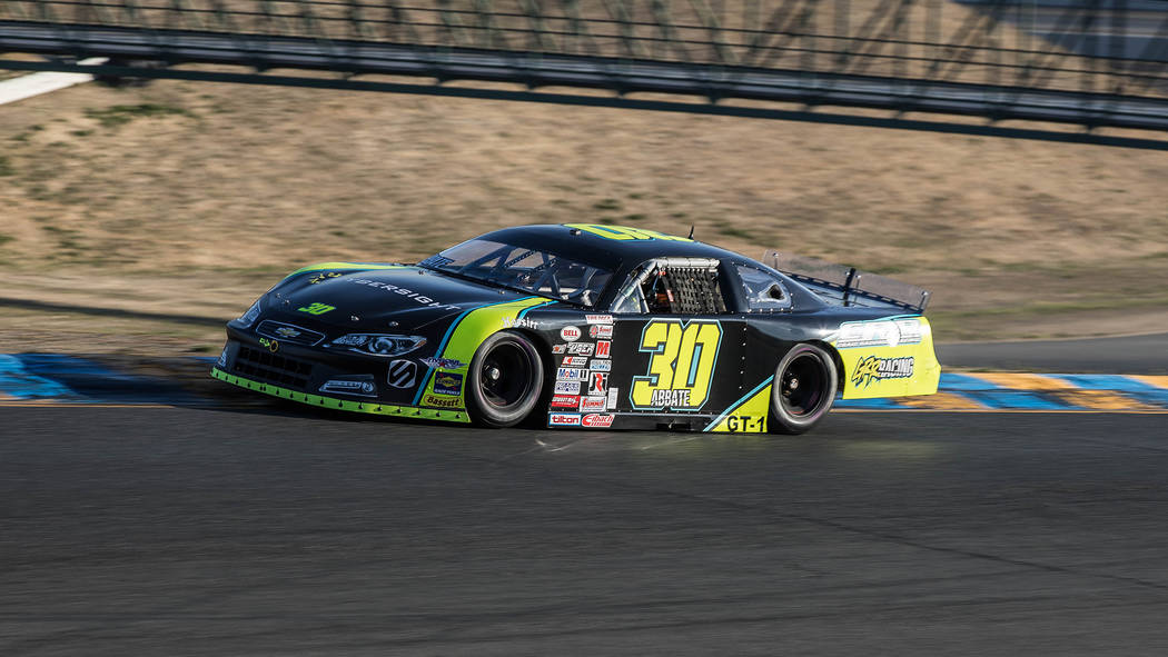 Aspiring sports car racer Michele Abbate of Henderson finished third in the GT1 class at the SCCA Runoffs at Sonoma Raceway in California. (Courtesy Michele Abbate).