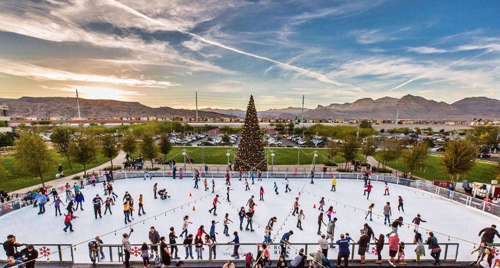 Rock Rink, near the Pavilion on The Lawn, opens on Nov. 16. It is open nightly from 4 to 9 p.m. Monday through Thursday; 4 to 10 p.m. on Friday; 10 a.m. to 10 p.m. on Saturday and 11 a.m. to 8 p.m ...