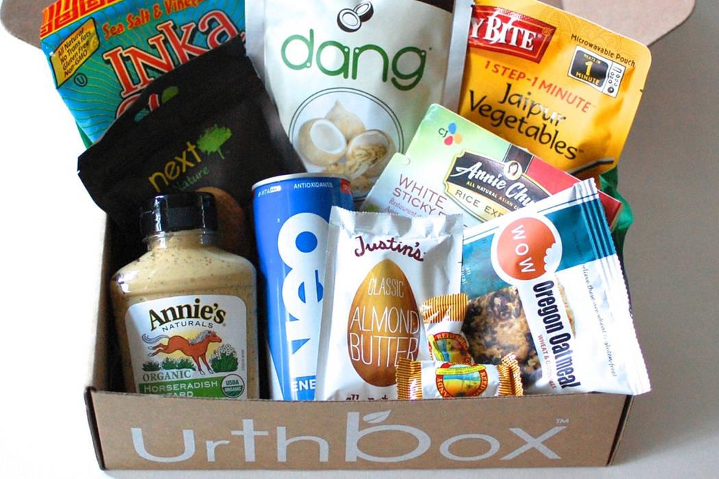 Urthbox sample pack (Courtesy of Urthbox).