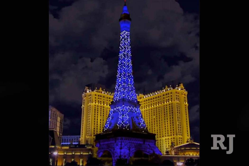 The Clark County Commission has approved modifications to the Eiffel Tower at Paris Las Vegas to add animated lighting to the 640-foot replica of France's most recognizable icon. ...
