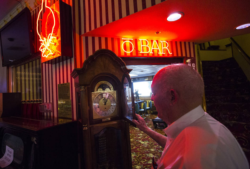 Businessman Jim Marsh talks about the different historical items he keeps at his Longstreet Casino in Amargosa Valley on Sunday, Oct. 28, 2018. Chase Stevens Las Vegas Review-Journal @csstevensphoto
