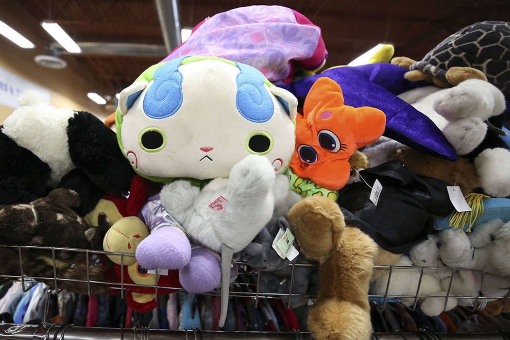 Stuffed children's toys (Las Vegas Review-Journal)