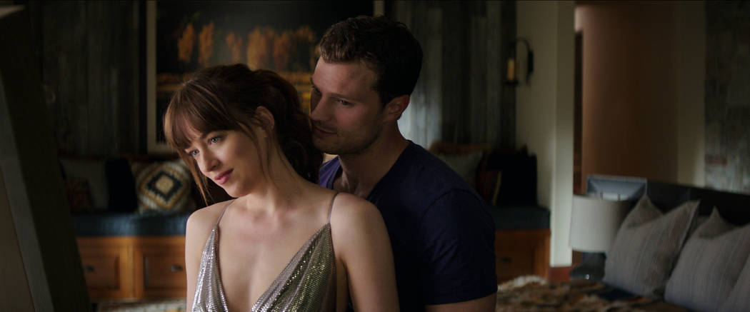 """DAKOTA JOHNSON and JAMIE DORNAN return as Anastasia Steele and Christian Grey in """"Fifty Shades Freed,"""" the climactic chapter based on the worldwide bestselling """"Fifty Shades"""" phenomenon. Brin ..."""