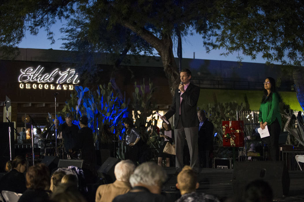 More than 5,000 folks turned out for Ethel M's 25th Annual Cactus Garden lighting ceremony at the company's headquarters in Henderson. Ethel M