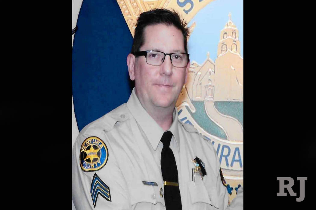 Ventura County sheriff's Sgt. Ron Helus (Ventura County Sheriff's Department/Facebook)