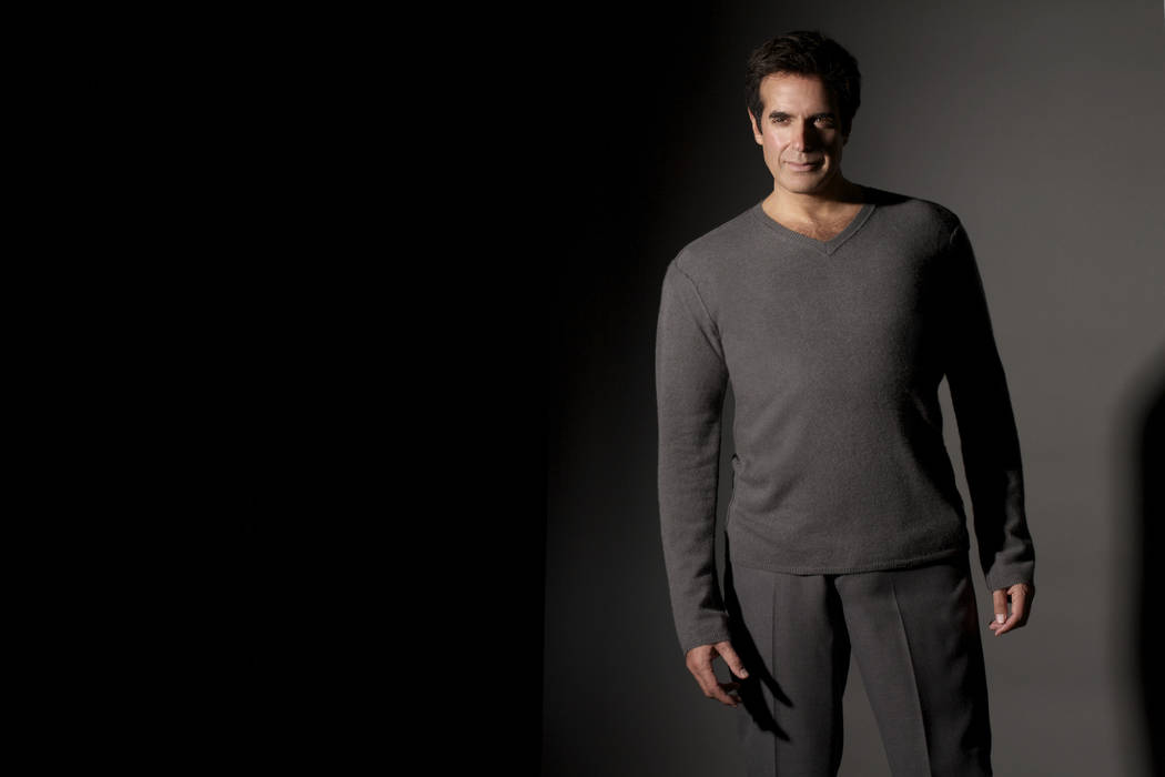 David Copperfield tops the Forbes list of richest magicians covering 2017-2018. (R-J file)