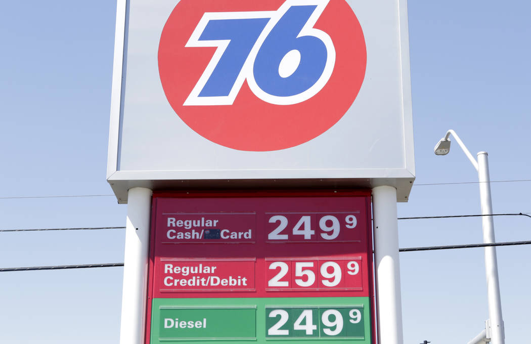 Las Vegas Gas Prices >> Las Vegas Gas Stations Are Price Gouging Las Vegas Review Journal