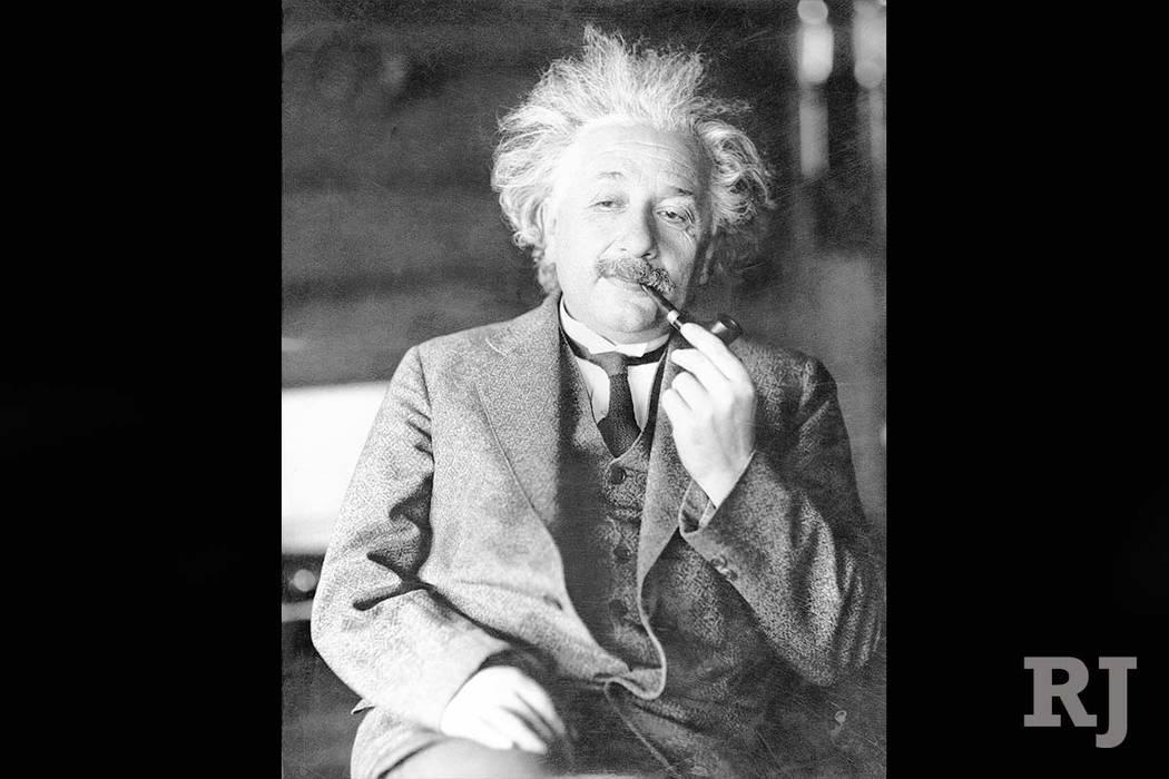 An undated photo of Albert Einstein. (AP)