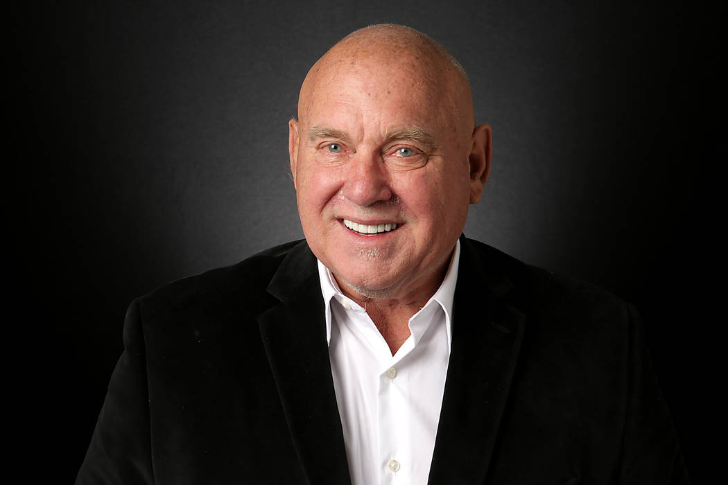 Dennis Hof, Republican candidate for Nevada State Assembly District 36, is photographed at the Las Vegas Review-Journal offices on Monday, August 20, 2018. (Michael Quine/Las Vegas Review-Journal) ...