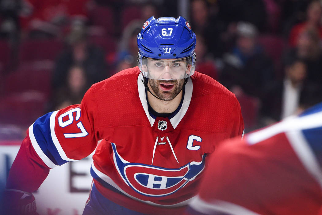 Look on Montreal Canadiens Left Wing Max Pacioretty (67) during the New York Rangers versus the Montreal Canadiens game on February 22, 2018, at Bell Centre in Montreal, QC (Photo by David Kirouac ...