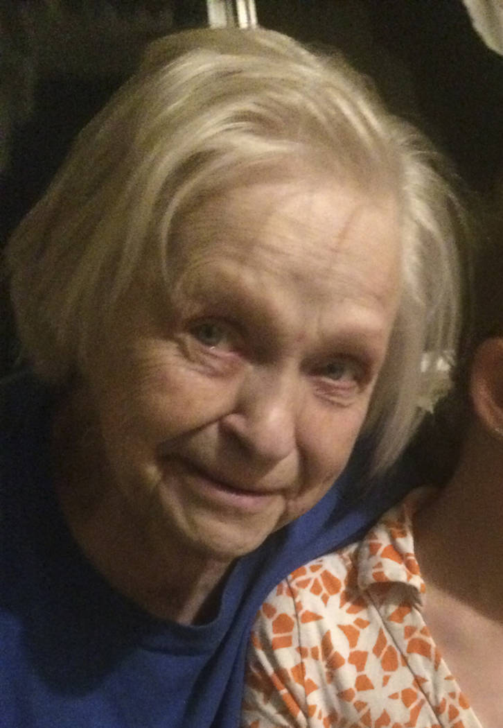 In this undated family photo shows Jean Forsman. A New Hampshire woman says she and her brother are frantically trying to get information about Forsman, their 83-year-old mother, who lives in the ...